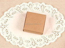 Wholesale Factory Price Brown Kraft Foldable Paper Box