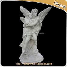 Sexy Nude Angel Girl and Boy Statue