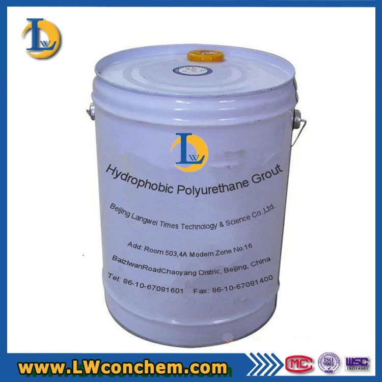 Hydrophobic Polyurethane Grout 1