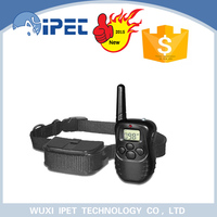 Hot sell remote waterproof dog training collar with 100 level vibration