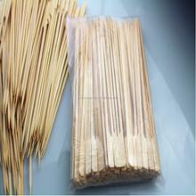 Made in china eco friedly BBQ flat bamboo gun stick