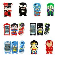 New 3D Festival Gift Comics Film Cartoon Super Soft silicone Case Cover skin shell For iphone 5 5g 5s 6 6s