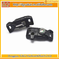 1/2 curved side release buckles/curved quick-release buckle/side release plastic buckle