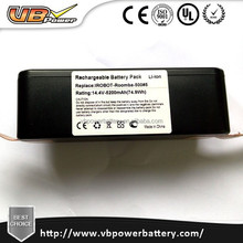 14.4V 5200mah replacement battery pack iRobot Roomba Lithium battery