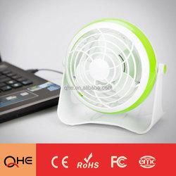 Usb fan with battery mini desk fan CE RoHs Summer hot products
