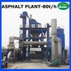 LB1000 High quality stationary asphalt mixing plant 80T/H