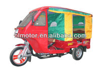 Three Wheel Passenger Rickshaw two row passenger seat