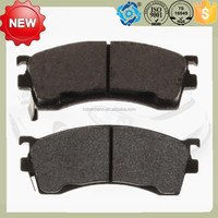 Auto spare parts D637 top quality brake pad manufacturers car spare parts