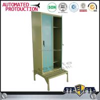 vertical multi door locker room bench