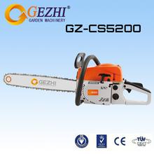 2 derrame gasolina motosserras motosserra chinês para qualidade de alta performance de baixa vibração venda CS-5200