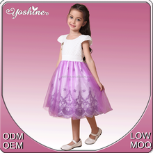 Classical Wholesale Girls Clothing Latest Fashion Design Formal Dress Patterns for Girls