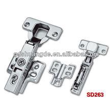barril estilo bisagras de metal sujetadores de la puerta, puerta corredera de plástico
