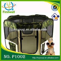 Soft-Sided Wire-framed Collapsible Folding Playpens for Dog