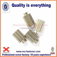 Stainless steel wholesale vertical stripes nuts shoulder nuts