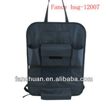Fashion Polyester Car Seat Back Storage Bag
