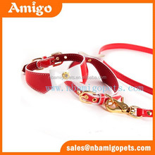 Amigo pet hunting products bow tie western style dog collars and leashes set