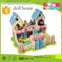 preschool diy doll house toys mini doll house model doll house toys