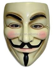 v for vendetta mask masquerade party mask korea v line face mask QMAK-2091
