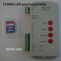 T1000S LED pixel SD card controller 2048 pixels