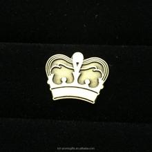 Gold Crown Metal Hat Pins Lapel Pin For Women