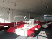 Liya unsinkable rigid bottom boat rescue boat with engine