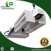 horticulture 1000w 240v/277v double ended DE grow light reflector /120/240v 1000w ballast with fixture for double ended lamp