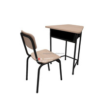 Hot Sale India School Furniture School Desk And Chair