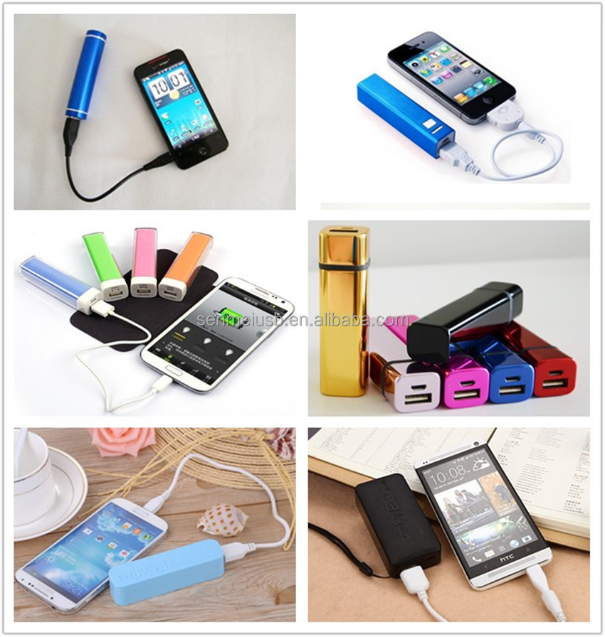 Wholesale Portable Cell Phone Charger 2200/2600/3000mah For Promotional Gifts