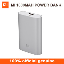Xiaomi silver 10000mAh portable mobile power bank with high quality