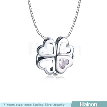 2014 new design handmade silver plated yiwu pendants & charms