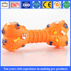 Bone shape plastic pet toys, Customized bone shaped pvc pet toys, pvc squeaky pet bone for dog