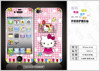 Various styles high quality full body cartoon screen protector for iPhone4 with front&back covered