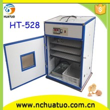 best quality incubator for chick used holding 528 eggs with CE
