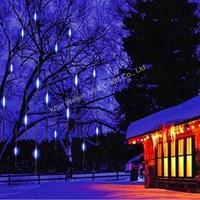 LED meteor shower light/Outdoor meteor snow shower christmas lights/LED meteor shower rain tube lights