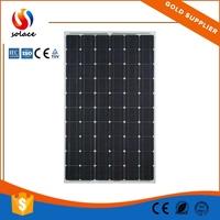 high efficient mc4 mono solar panel 100w