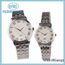 Couple lover wrist watch with Japan movement