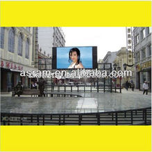 DIP 2R1G1B P16 waterproof full color outdoor led screen display moving advertising video wall stadium mobile panel sign board