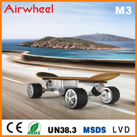 new product Airwheel M3 four wheels e-skateboards for kids