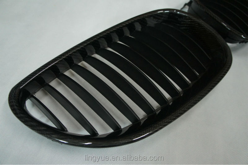 Carbon fiber grille for E90