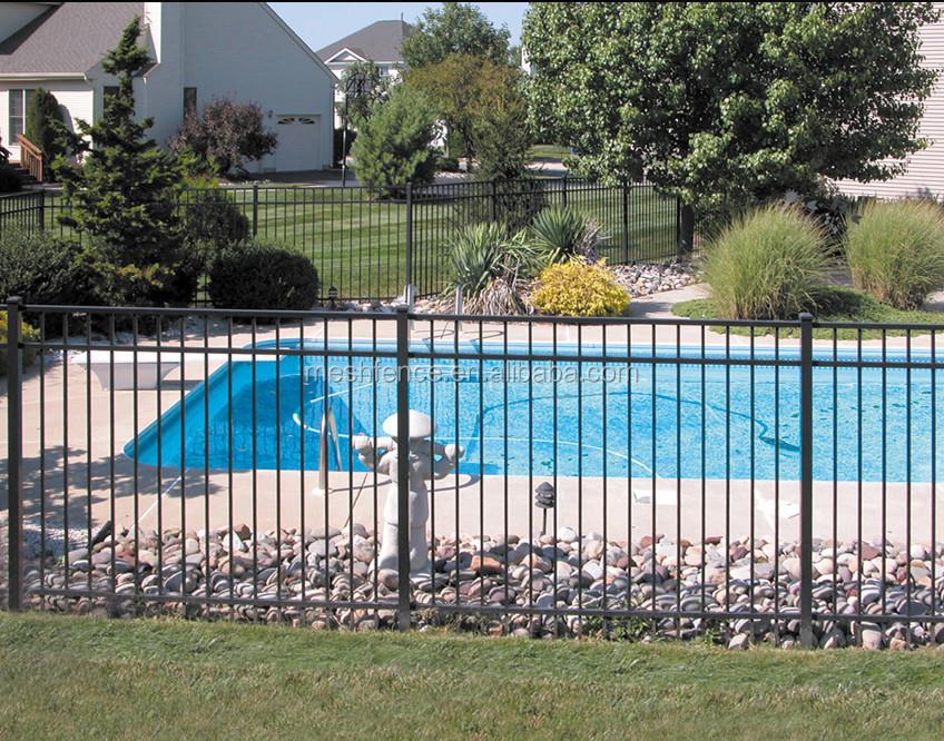 Utilis jardin mural d coratif en fer forg cl ture m tallique pour mur d 39 enceinte vente for Barriere de jardin metallique