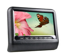 Promotion!! hot-selling portable car back seat TV for car with MP3 player