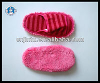Coralon leather microfiber dusting slippers