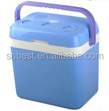 32L mini car fridge/ thermoelectric cooler & warmer box