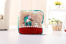 Manufacturer supply hot sale long lasting soft plush pillow cushion with good offer