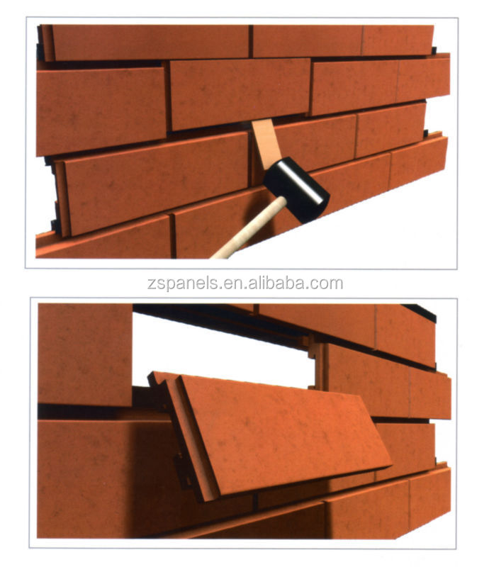 Building Facade Material Terracotta Clinker Tile Terracotta Klinker Brick For Exterior Wall