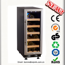 18 bottles thermoelectric wine cooler small wine cabinets
