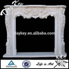 Factory directly interior carving granite freestanding fireplace