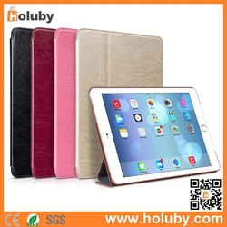 For iPad Air 2 Magnetic Smart Case,Smart Case for iPad Air 2,HOCO Crystal Series Flip Stand Leather Case for iPad Air 2