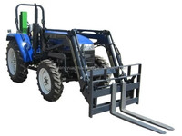 40-55hp 4wd tractor with front fork