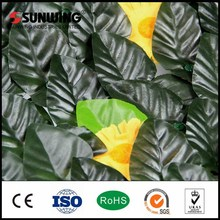 2015 New products artificial synthetic plastic PE fence